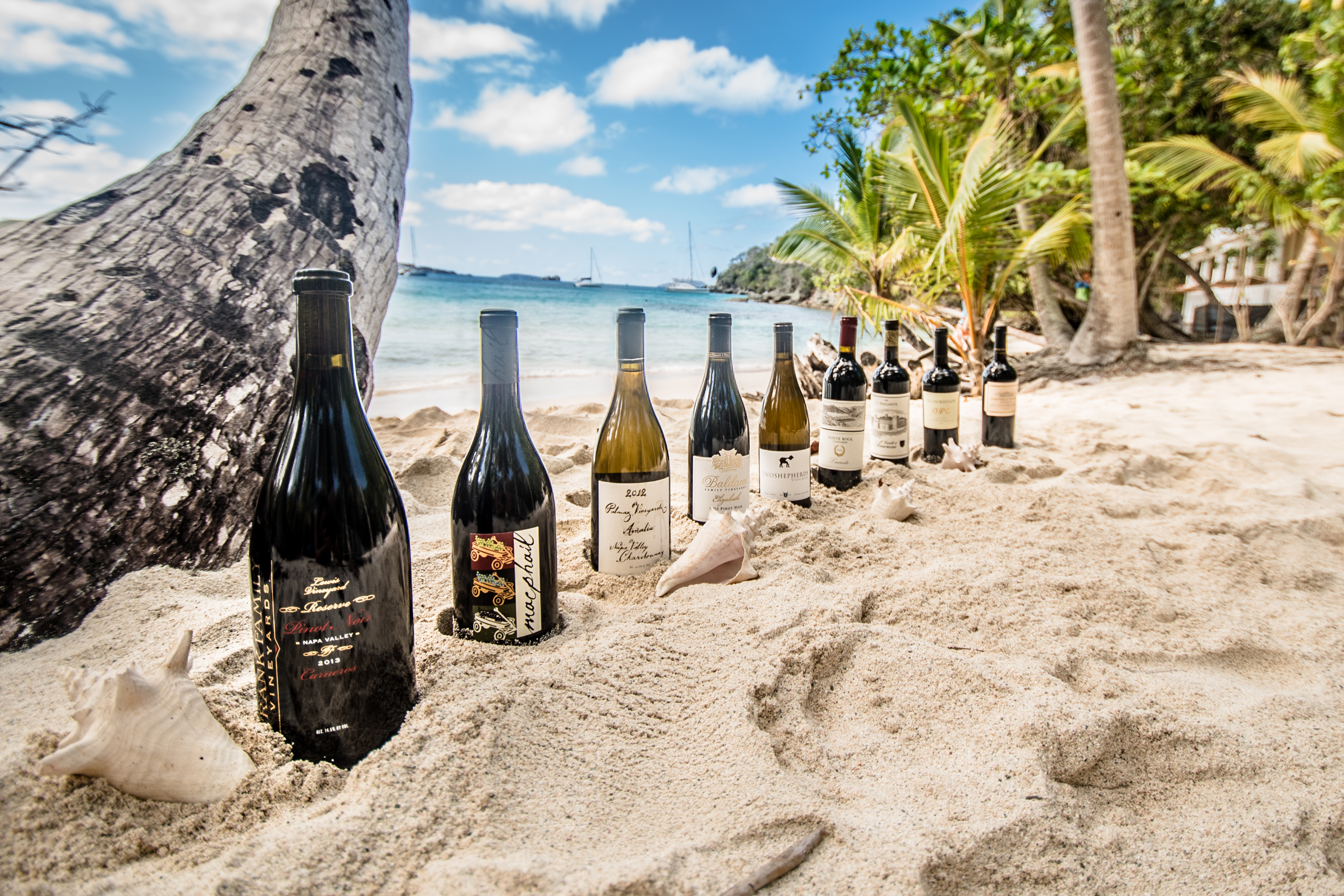 Caribbean Wine Club - Wines in the sand